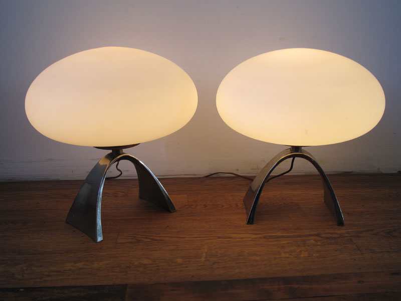 1950s Orb Lamps :